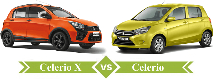 Maruti Suzuki Celerio X Vs Maruti Suzuki Celerio Comparison-Autovista