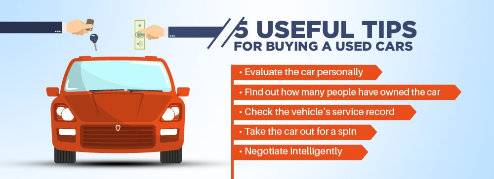 5 Useful Tips For Buying a Used Cars