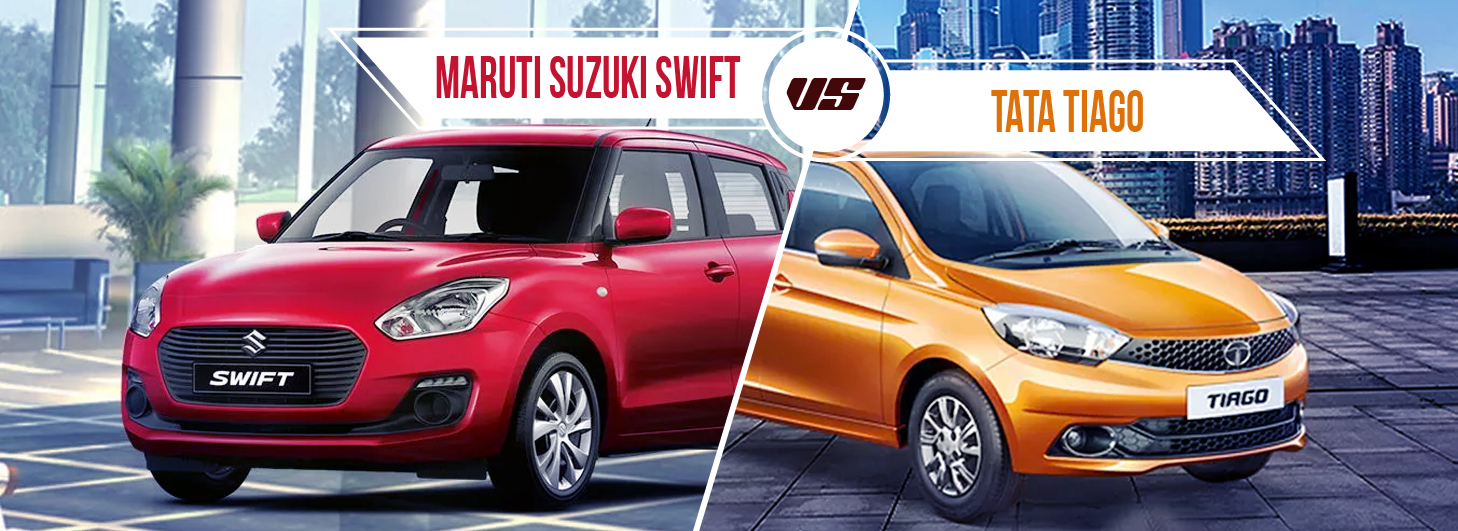 Compare Tata Tiago Vs Maruti Suzuki Swift - Price, Specification, Features, Interiors