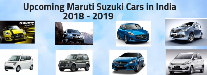Upcoming Maruti Suzuki 2018-2019 Cars in India-Autovista